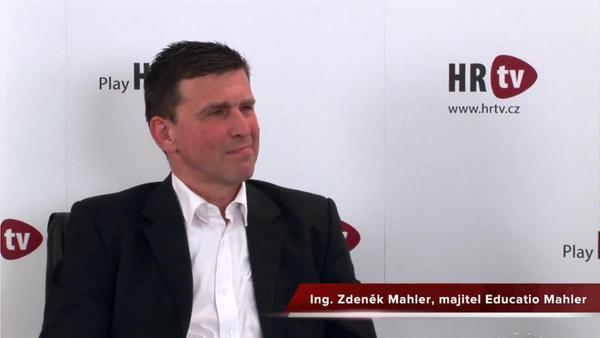Zdeněk Mahler v HRtv: Jsou i situace, kdy se klienty snažím od vzdělávání odradit